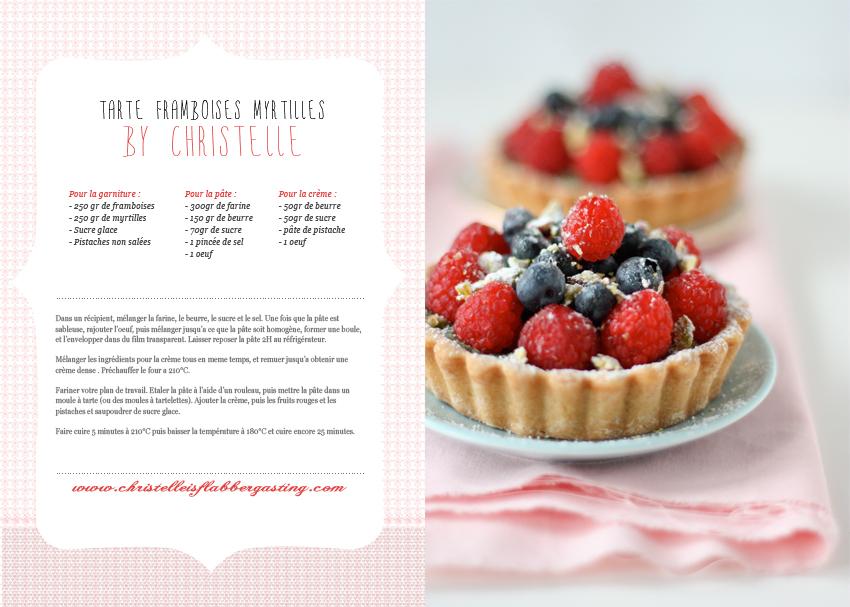 photographie culinaire tarte framboises myrtilles