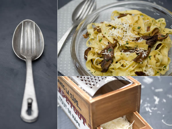 Tagliatelles-aux-champignons