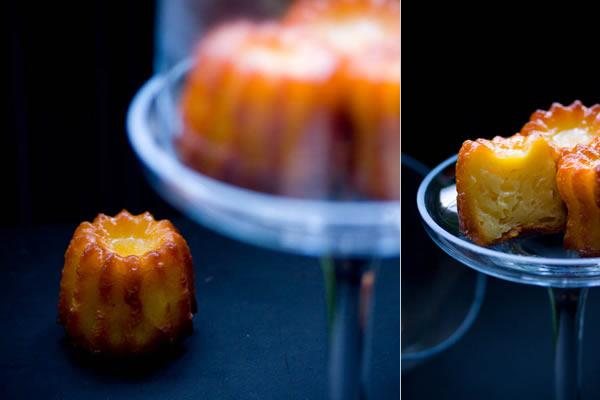 Photographie culinaire cannelés