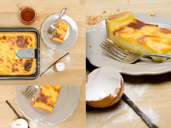 Photographie culinaire flan-patissier