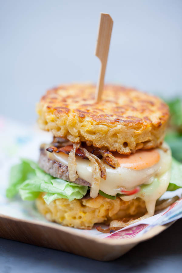 Photographie culinaire hamburgers