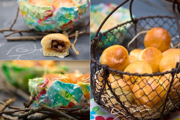 Photographie culinaire mini-brioches au chocolat