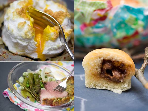 Photographie culinaire menu-de-paques