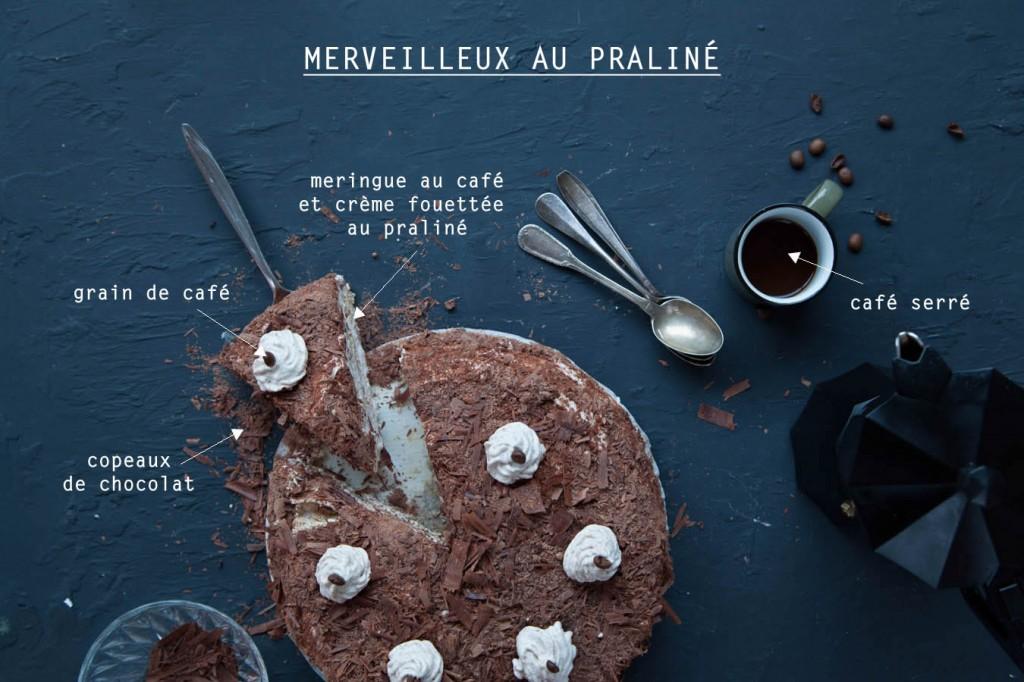photographie culinaire merveilleux praliné