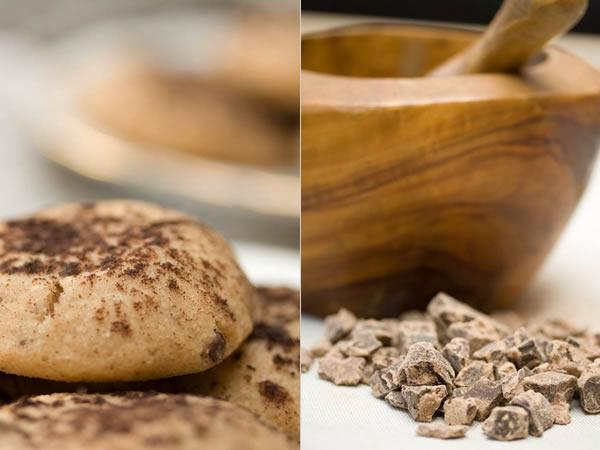Photographie culinaire montécaos au chocolat