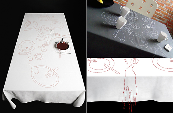 nappe messy par aze design