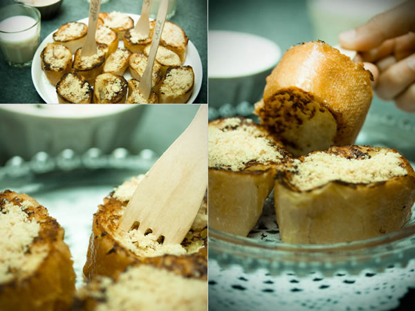Photographie culinaire pain perdu