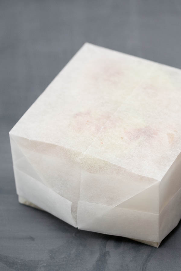 tuto boite papillote origami