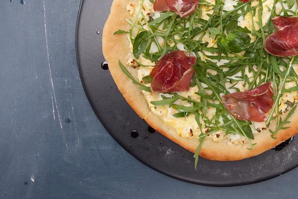 pizza bianca coppa