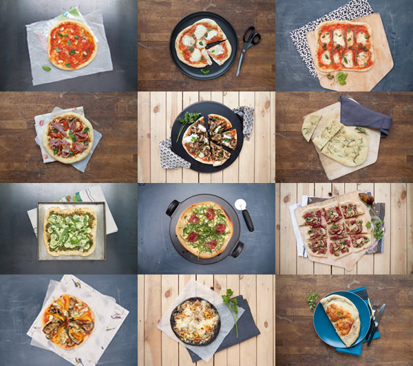 Photographie culinaire pizza
