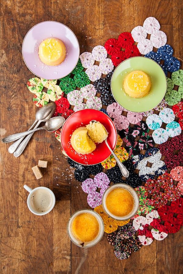 stylisme et photographie culinaire sur le livre made in brasil