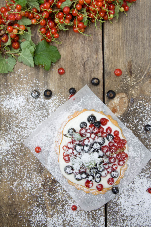 Photographie culinaire sablés groseilles et cassis