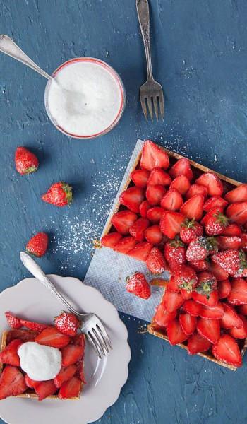 tarte tomate fraise